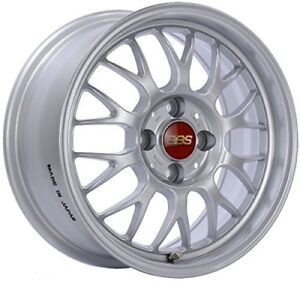Bbs Rgf Silver Wheel 15x7 4x100mm 42 Offset