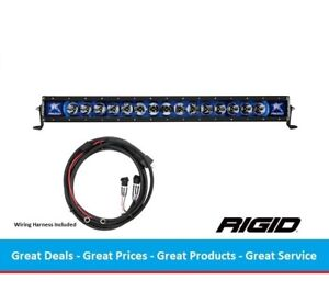 Rigid Industries Radiance Series 30 Inch Led Light Bar With Blue Back light