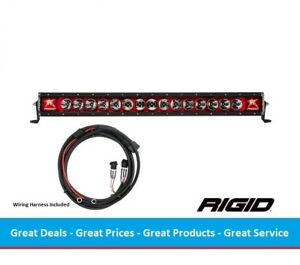 Rigid Industries Radiance Series 30 Inch Led Light Bar With Red Back light