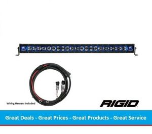 Rigid Industries Radiance Series 40 Inch Led Light Bar With Blue Back light