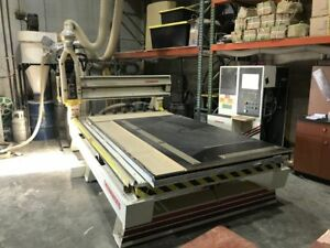 Thermwood Cs45 Cnc Router 5 X 10 W Automatic Tool Changer