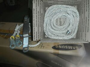 35 Safety Line Basic Lanyard And A Tempory Or Permant Anchor