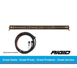 Rigid Industries Radiance Series 50 Inch Led Light Bar With Amber Back Light