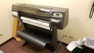 Hp Designjet 1050c 36 Wide Large Format Inkjet Printer Plotter