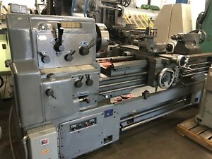 Webb Korea 20 29 X 60 Cc Gap Bed Engine Lathe Model 20 1 2gx60
