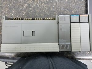Allen bradley Slc 500 Plc With Input And Output Relay Cards