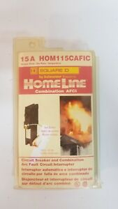 Square D Homeline Hom115cafic 15a Arc Fault Afci Circuit Breaker New In Package