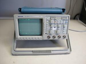 Tektronix Tds460a Digital Oscilloscope 400 Mhz 4 Ch Opt 1f
