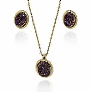Monticano Gold Kit Druzy Pink Metallized
