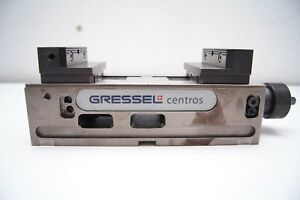 Gressel Centros Machine Vice With Universal Adapter Plates