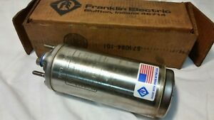 Franklin Electric Submersible Well Pump Motor 1 3hp 3 Wire 115v 2145024416 New