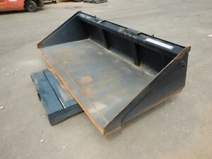 Blue Diamond 108170 78 Low Profile Smooth Bucket For Skid steer
