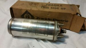 Franklin Electric Submersible Well Pump Motor 1 3hp 2 Wire 230v New 2443030117