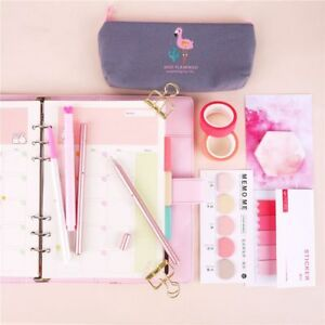 Kawaii Memo Pad Stationery Spiral Notebook Set With Pens Diy Supply Planner Suit