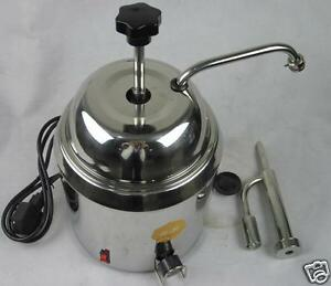 Hot Fudge Nacho Cheese Chocolate Dispenser Warmer Cheese Water Heating Machine S