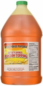 Butter Flavor Popcorn Topping Oil gallon
