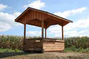 Amish Pa Dutch Built Hay Feeder For Horse Alpaca Goats Cows Llama Sheep Animals