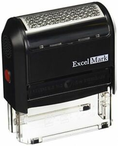 Excelmark Identity Theft Guard Stamp Large 42050sec