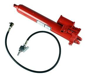 8 Ton Hydraulic Air Long Ram For Engine Hoist Cherry Picker Shop Crane Jack