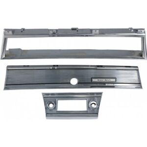 Chevelle Super Sport Dash Bezel Kit 1967 50 343781 1
