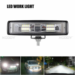 2x 48w Flood Led Work Lights Lamp 12v For Off Road Cars Boat Truck Driving Ute