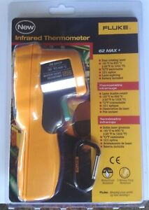 Fluke 62 Max Plus Ir Dual Laser Infrared Thermometer F62 Max Plus