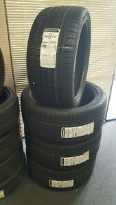 4 Brand New Porsche Cayenne Audi Q7 295 35 21 Continetal Crosscontact Uhp Tires