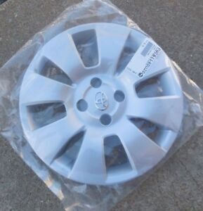 15 2006 07 08 Toyota Yaris Htbk 8 Spoke Hubcap Wheel Cover