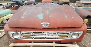 1964 64 Ford Truck Front Clip Fenders Hood Grill Shipping Included