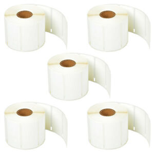 5roll Self adhesive Jewelry Price Tag 3 8 X 3 4 For Dymo 30299 Labelwriter 450