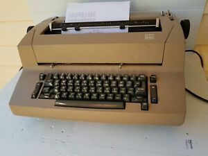 Ibm Correcting Selectric Ii Typewriter Tannish Brown