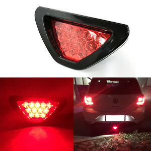 Car Suv Red 12 Led F1 Racing Style Stop Brake Light Add On 3rd Tail Flasher Lamp
