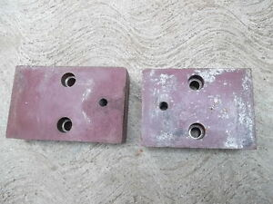 Central Machinery 9 x20 Metal Lathe Bed Support Feet Foot Riser Set Of 2
