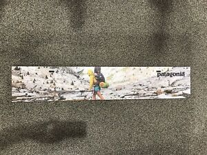 Patagonia Retail Sign backpacking 43 X 8