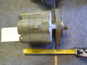 Parker Commercial 312 9112 553 Hydraulic Pump