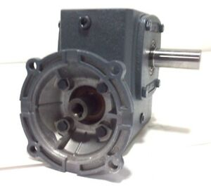 New Boston Gear Motor F724 60 zb 5g Speed Reducer Gearbox 60 1 Ratio