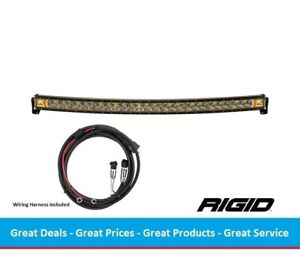 Rigid Industries Radiance Curved 50 Inch Led Light Bar With Amber Back Light