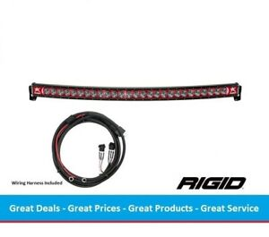Rigid Industries Radiance Curved 54 Inch Led Light Bar With Red Back Light