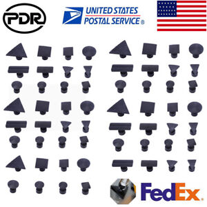 60 Pdr Auto Body Glue Pulling Tabs Diy Paintless Dent Repair For Pullers Black