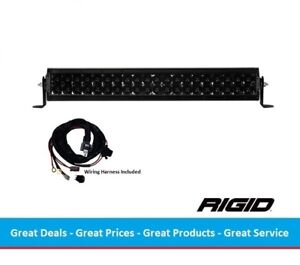 Rigid Industries Midnight Edition E series Spot Optics 20 Inch Led Light Bar