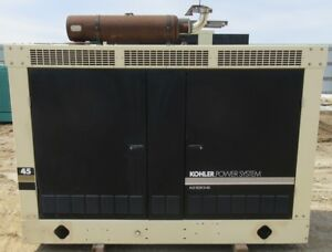46 Kw Kohler Gm Natural Gas Or Propane Generator Genset Load Bank Tested