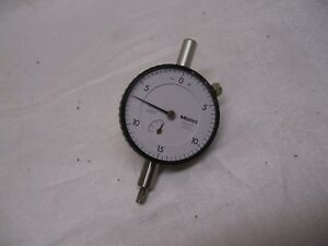 Mitutoyo 2571f Dial Indicator 0005 Jeweled Made In Usa