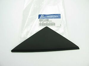 New Exterior Triangle Molding Trim Outer Right Door Cover For 2003 2008 Tiburon