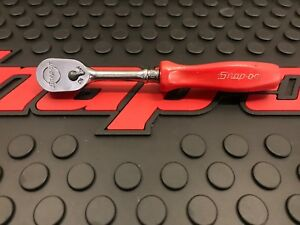 Snap on 1 4 Drive Red Hard Handle Ratchet Thld72