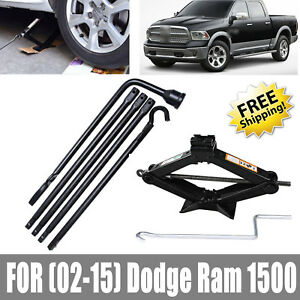 New For Dodge Ram 1500 02 15 Spare Tire Lug Wrench Tool And Scissor Jack 2 Tonne