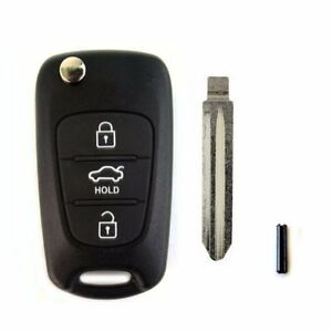 Keyless Entry Remote Control Folding Key Oem Parts For Kia 2009 10 Forte Koup