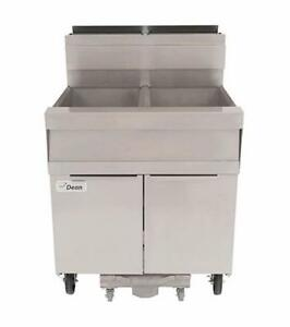Frymaster Scfsm250g Super Marathon Fryer Battery With Filtration System