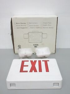 New Howard Hl04093rw Exit Light