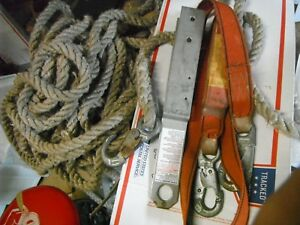 84 Safety Line 6 Shock Absobing Lanyard And A Tempory Or Permant Anchor