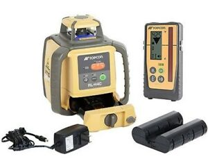 Topcon Rl h4c Laser W Rechargeable Batteries Ls 100d Digital Receiver cal